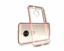 For Motorola Moto E4 Simply Clear Acrylic Shockproof Phone Case Cover 4 Colors