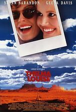 A3/A4 size POSTER * THELMA AND LOUISE * Classic Vintage Action Movie Film  #10