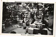 CPA Brosserie LOUIS OBERTHUR, RENNES - Magasin d'Expédition (210453)