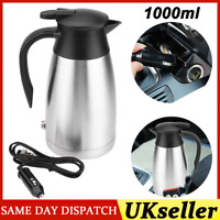 Portable Electric Kettle Water 12V /24V Car Van Lorry Travel Camping 1000ML