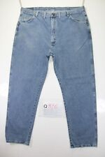 Wrangler relaxed fit big size  (Cod.Q325) Tg58  W44  L32  jeans usato.