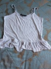 Girls New Look Vest / Camisole Top Age 14-15 Years Ex Con