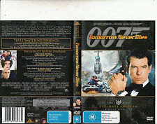 Tomorrow Never Dies 007-Pierce Brosnan-1997-[2 Disc]-Movie-DVD
