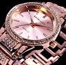Excellanc Damen Uhr Armbanduhr Rose Gold Farben Strass Frauen 21