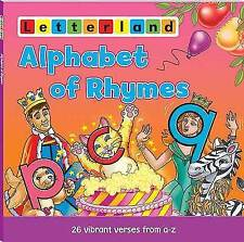 An Alphabet of Rhymes (Letterland Picture Books),Jones, Linda,Very Good Book mon