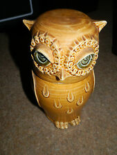 Rectors Pottery China Owl