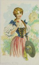 """""""Frauen, Trachten, Hut"""" 1900, sig. Bottaro ♥ (6210)"""