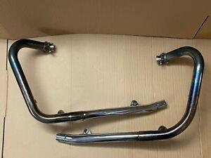 Genuine TRIUMPH BONNEVILLE Standard Original Exhaust Headers/ Down Pipes: OU4029