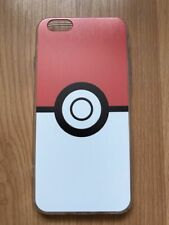 Pokemon Pokeball Silicone Phone Case for iPhone 6 / 6s