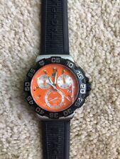 Tag Heuer Formula 1 Orange Face/ Black Band. CAH1113 Men's Watch ERL5147