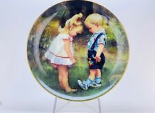 Border Fine Arts Moments of Wonder New Shoes Limited Edition Porcelain Plate