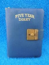 Vintage Diarycraft 5 Year Diary with Lock & Key Un-Used