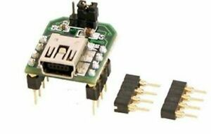 FTDI FT232RQ Mini-USB to Serial UART (TTL) Module, 3.3V or 5V
