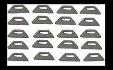 Weld on tabs for zip tie mount ,brake line 20 pack