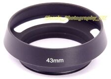 E43 Vented Lens Hood 43mm for LEICA Summilux-M 50mm 1.4 SUMMILUX 1:1.4/50mm