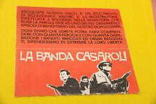 "7"" SOLO COPERTINA SENZA DISCO LA BANDA CASAROLI ORIG ITALY"