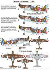 "Berna Decals 1/72 MORANE MS.406 ""LA FURIE"" French WWII Fighter"