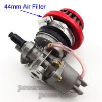 Carburetor Carb Air Filter Stack For 47cc 49cc Mini Moto ATV Dirt Pocket Bike
