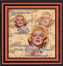 2002 MOZAMBIQUE -40° Aniversário Morte de Marilyn Monroe - bloco193 -MNH #4051