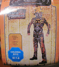 Bumblebee Transformers costume NEW NEVER WORN Size Medium 8-10