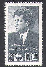 Brazil 1964 President John F Kennedy/JFK/Politics/People 1v (n38090)