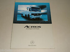Leitfaden Abschleppen Bergen f. Abschleppdienst Mercedes Benz LKW Actros, 2002