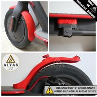 "🛴10"" GUARDABARROS PACK🛴 Mudguard Complete Pack Xiaomi M365/M187/PRO 3D"