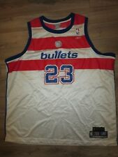 Michael Jordan #23 Washington Bullets NBA Hardwood Classics Jersey 3XL 3X