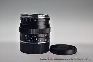 MINT Carl Zeiss Biogon T 35mm f/2 ZM Black