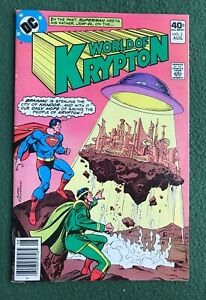 World of Krypton #2 Superman DC Comics Bronze Age vf