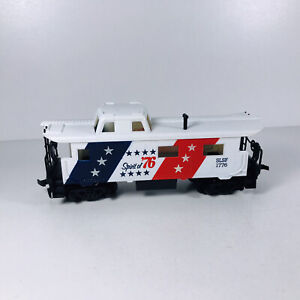 Vintage HO Tyco The Spirt of 76' Caboose SLSF #1776