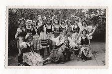 PHOTO Jeunes Filles Costume traditionnel Alsace Nord de la France Folklore 1950