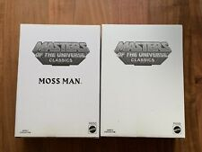 He Man Faker & Moss Man Classic Mattel Masters Of The Universe Matty Collector