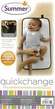 Summer quickchange Fully Padded Portable Changing Pad Black Waterproof Surface