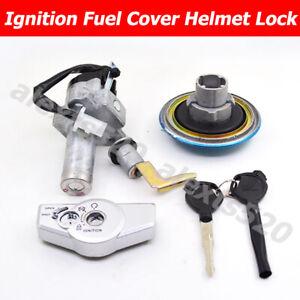 For Honda CB125F GLR125 2015-20 IGNITION SWITCH & SEAT LOCK & TANK CAP KEY SET