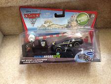 NEW Disney Pixar CARS 2 Lewis Hamilton Pit Stop Launchers Diecast NIB