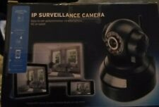 IP Wifi Surveillance Camera Black New in Box