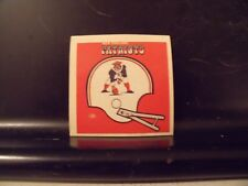 1977 NFL Football Helmet Sticker Decal New England Patriots Sunbeam Bread