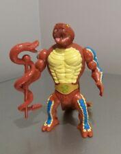Raro He-man Y Los Amos del universo RATTLOR Figura Con Arma 1983