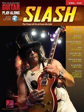 Slash Sheet Music Guitar Play-Along Book Audio Online NEW 000702425
