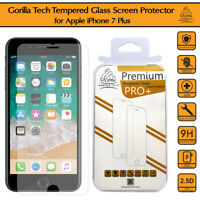 3X 100% Genuine Tempered Glass Film Screen Protector For New Apple iphone 7 Plus