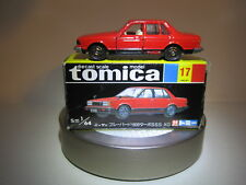 Tomy Tomica 17 Nissan Bluebird Turbo,1:64 Die cast car Japan made Vintage Mint!