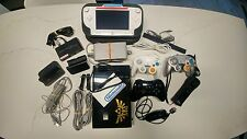 Nintendo Wii U Deluxe 32 GB Modded Bundle /w 40 loadiine installed games