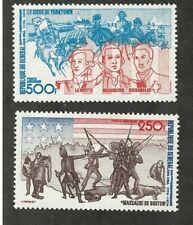 Senegal: Scott C141 - C142, mint NH. SE06