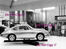 Porsche 911 at a Motor Show When New 1960s Photograph 2