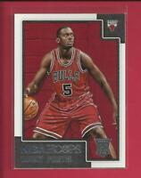 Bobby Portis RC  2015-16 Panini NBA Hoops Rookie Card # 275  Chicago Bulls