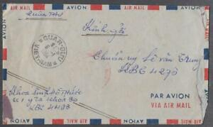 1964 Vietnam South Military Cover from KBC 4493 to 4276