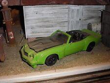 1/24 1/25 Custom 1970's Chevy Camaro Z-28 Convertible for Junkyard diorama parts