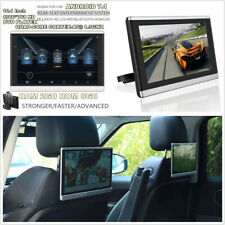 1 x 10.1'' Car Headrest Monitor DVD Player Android WiFi 3G 4G BT Mirror Link OBD