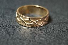 James Avery Crown of Thorns Band 14k Size9.5